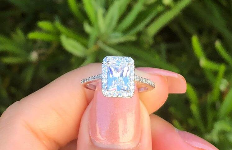 Radiant cut diamond Cut guide