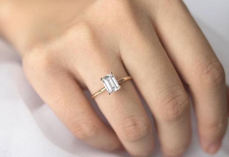 The popularity of the Emerald Cut Diamond