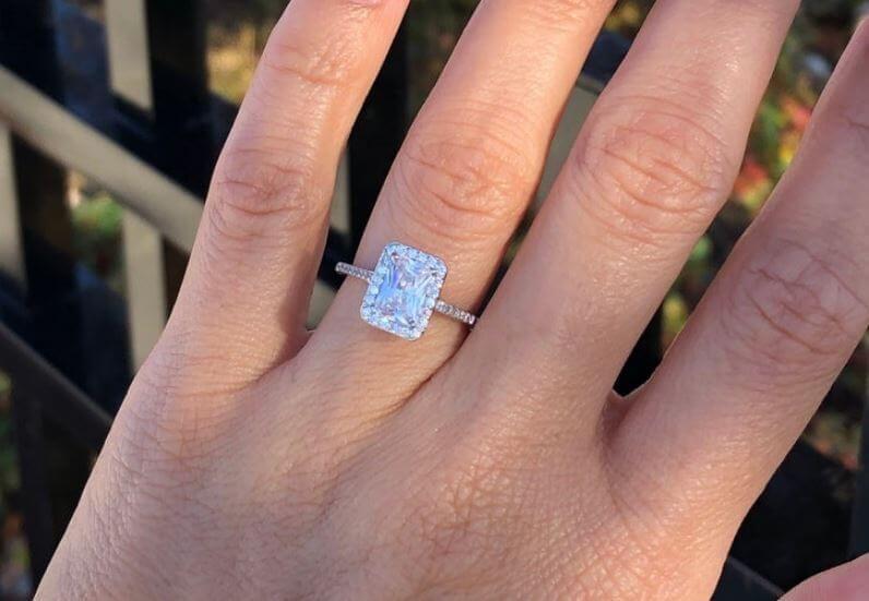 The radiant cut diamond color grade