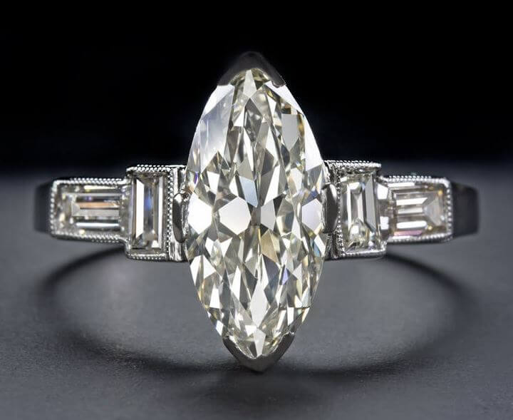 Cut quality and shape of the marquise cut