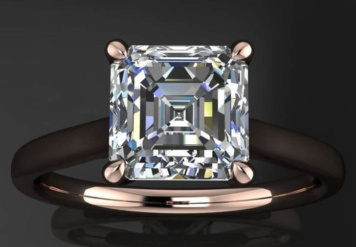 Some tips for buying Asscher cut diamonds