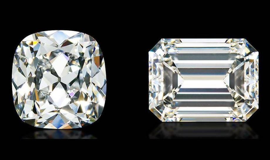 Cushion Cut vs Emerald Cut