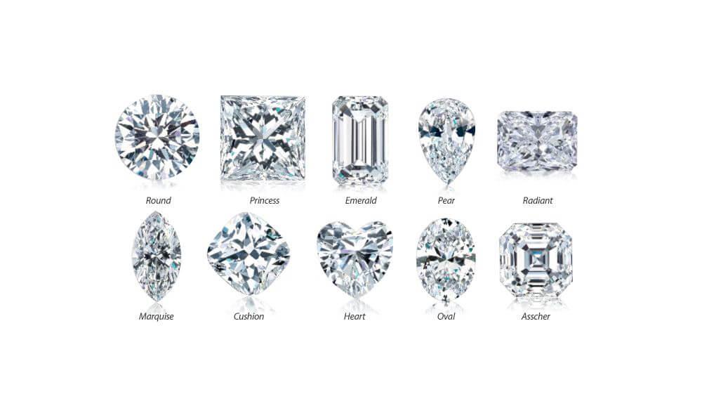 Most Popular Diamond Shapes