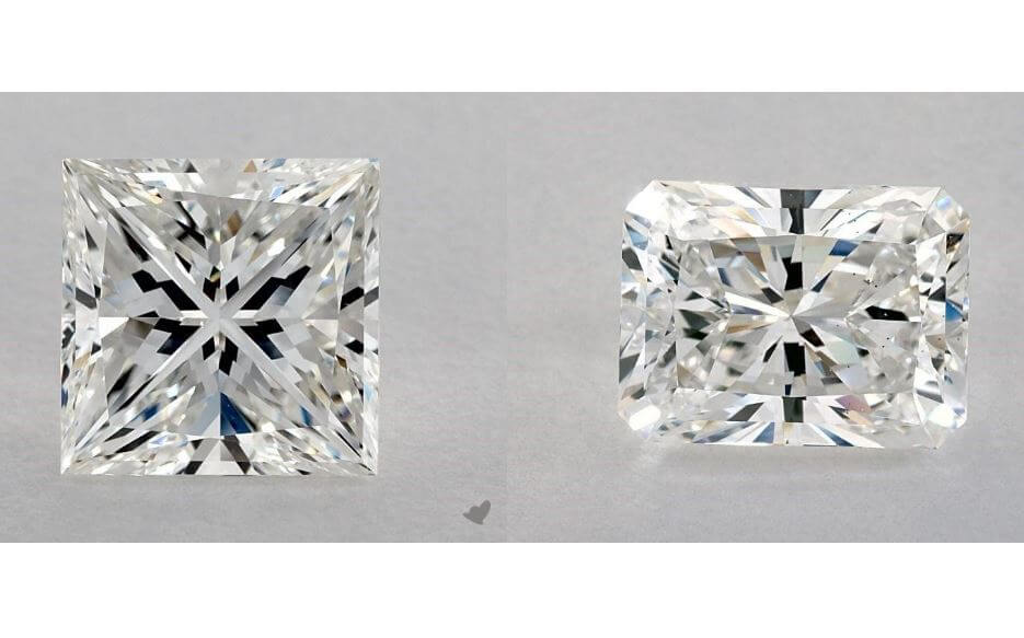 Princess Cut vs Radiant Cut