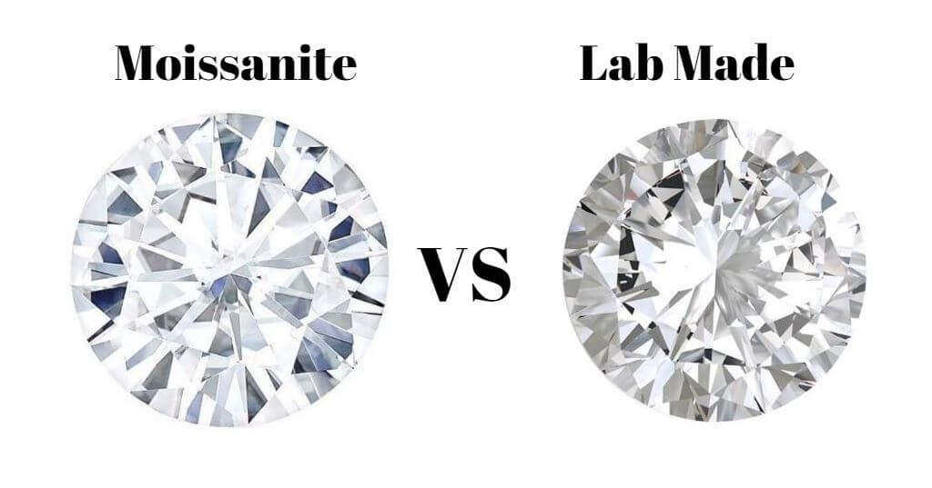 Moissanite vs Lab Made Diamonds