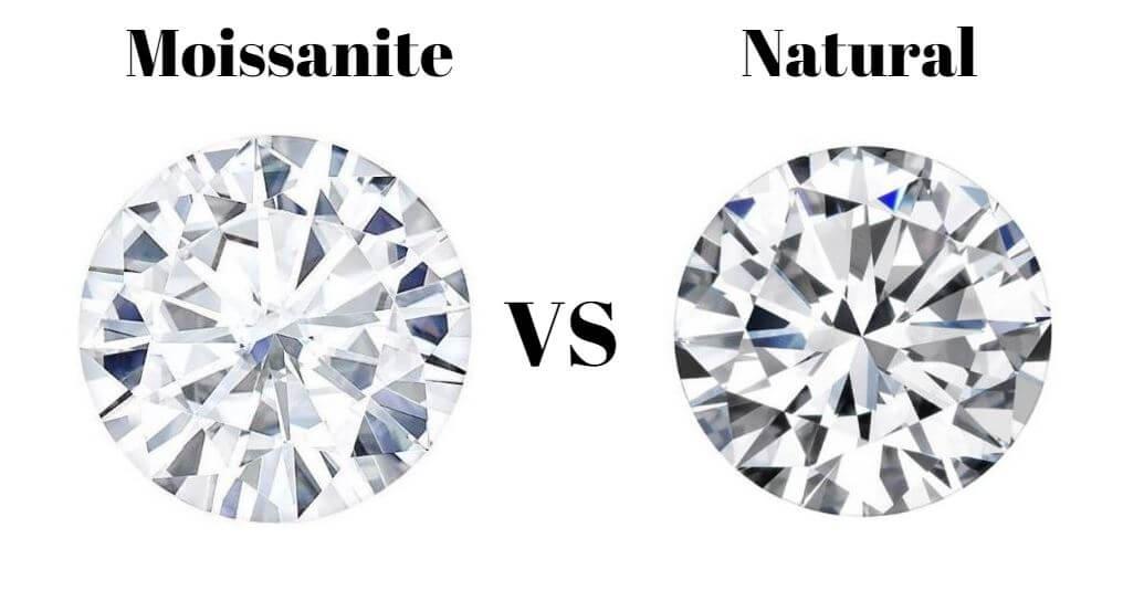 Moissanite vs Natural Diamonds
